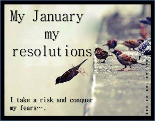 Now that we're one week into the New Year, how are the resolutions going?
